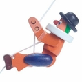 The Clown String Climber Toy - Dregeno Seiffen
