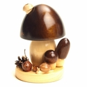 Brown Mushroom Incense Smoker - Dregeno Seiffen