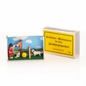 Dog Training Matchbox Scene - Dregeno Seiffen