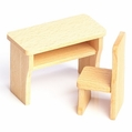Dollhouse Desk and Chair - Annedore Krebs