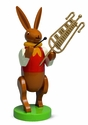 Easter Bunny Musician Playing Chimes (New in 2015) - Wendt & Kühn