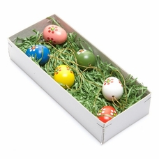 Easter Egg Tree Ornaments (Set of 6) - Dregeno Seiffen