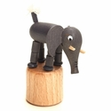 Elephant Push Toy - Dregeno Seiffen