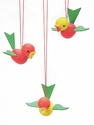 Birds In Flight Easter Tree Ornaments - Christian Ulbricht GmbH & Co