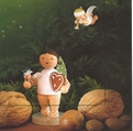 Gingerbread Angel Paper Napkins - Wendt & Kuhn