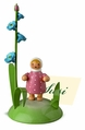 Girl With Forget Me Not Placecard Holder - Wendt & Kühn