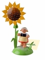 Girl With Sunflower Placecard Holder - Wendt & Kühn