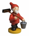 Gnome Holding Broom And Bucket (New in 2017) - Wendt & Kühn