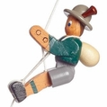 Green Jacket Mountain Climber String Toy - Dregeno Seiffen