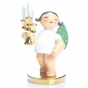 Limited Gold Edition Number 4 Candle Bearer Angel - Wendt & Kühn