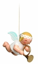 Suspended Angel Playing French Horn (New in 2014) - Wendt & Kühn