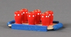 Mini Beer Tray With Cups - Dregeno Seiffen