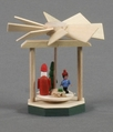 Mini Santa Pyramid (No Candles) - Dregeno Seiffen