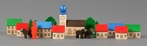 Mountain Village Scene (28 Pieces) - Ebert GmbH