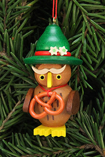 Owl Bavarian Christmas Tree Ornament Ulbricht Gmbh Co