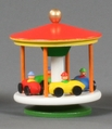 Race Car Merry Go Round Toy - Dregeno Seiffen