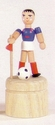 Soccer Player Push Toy - Dregeno Seiffen