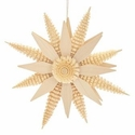 Wooden Star Ornament (7 inches) - Hoyer Studios