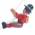 The Girl Hiker String Climber Toy - Dregeno Seiffen