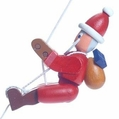 The Santa String Climber Toy - Dregeno Seiffen