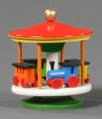 Train Merry Go Round Toy - Dregeno Seiffen