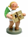 Well Wisher Angel Holding Gold Plated Gift (New in 2014) - Wendt & Kühn