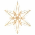Wooden Star Ornament 112 (21 Inches) - Martina Rudolph