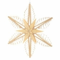 Wooden Star Ornament 122 (15 Inches) - Martina Rudolph