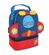 Airplane Lunch Box for Toddler | Personalized