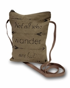All Who Wander Crossbody Bag