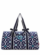 Anchor Quilted Duffle Bag | Personalized