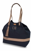 Around Town Canvas Tote Bag | Monogram