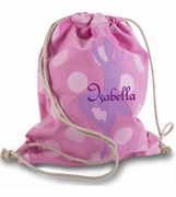 Ballerina Cinch Drawstring Bag