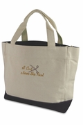 Beautician Tote Bag - Personalized | Embroidered