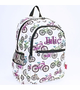 Bicycle Pattern Backpack