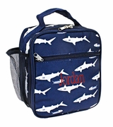 Boys Lunch Tote - Personalized Shark