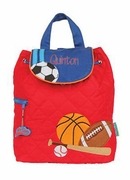 Boys Monogrammed Backpack -  Sports