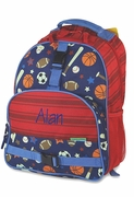 Boys Personalized Backpack | Sports