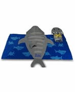 Boys Shark Beach Towel | Personalized