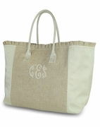 Bridal Bag - Weekender Tote - Monogram
