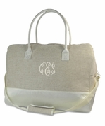 Bride Tote Bag - Travel Duffle | Monogrammed