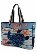 Canvas Turtle Beach Tote | Personalized