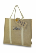 Custom Jute tote Bag