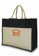 Custom Logo Beach Tote Bag