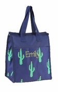 Cute Cactus Lunch Bag | Monogram | Personalized