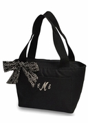 Cute Embroidered Lunch Tote Bag
