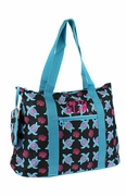 Cute Turtle Pattern Tote Bag | Personalized