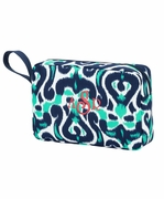 Damask Accessory Pouch | Monogram