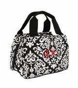 Damask Insulated Lunch Tote | Personalized
