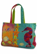 Designer Beach Tote Bag | Monogram